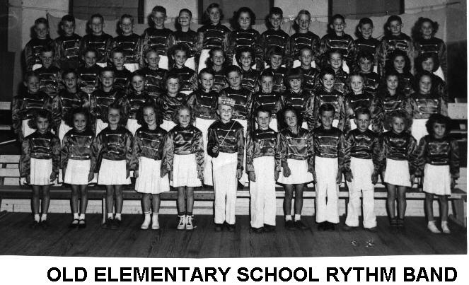 Elementary Rhythm Band - 1953