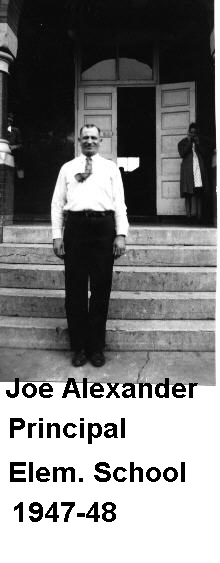 Mr. Joe Alexander, Principal