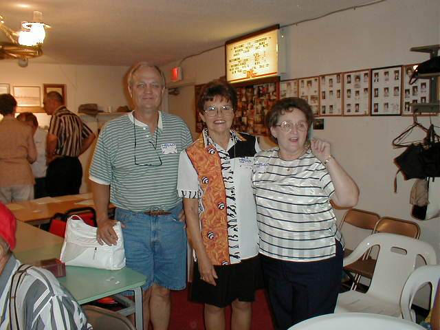 10 Class of 1961 - Don Lester, Peggy (Ladymon) Johnson, Catherine (Lee) Melton