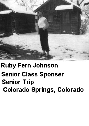 Ruby Fern Johnson - Class Sponsor