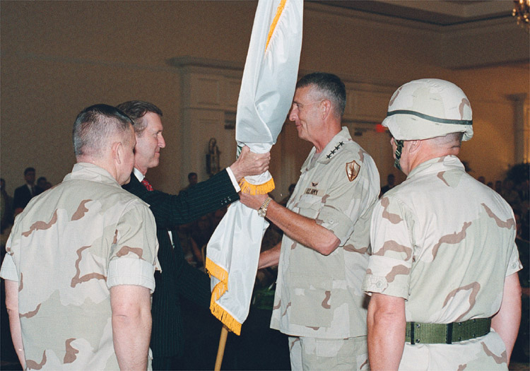 Change of Command, Central Command, Tommy Franks